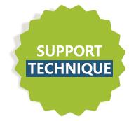 L´équipe du support technique