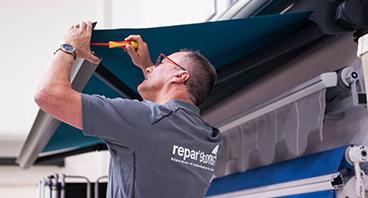 Réparation de stores extérieurs