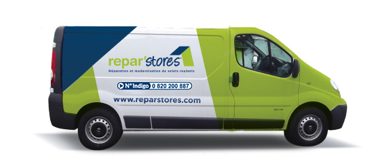 Camionette Repar'stores
